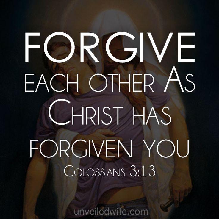 25+ best Bible quotes forgiveness on Pinterest | Positive god ...