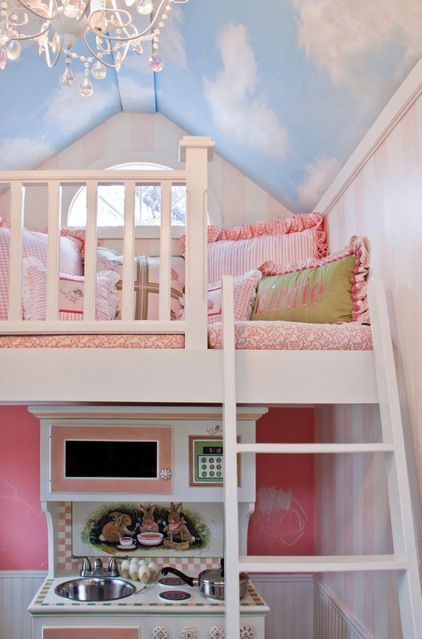 Playhouse at a Glance Who plays here: Birdie Location: Kent, Ohio Size: 55 square feet plus a loft - traditional kids by Lobalzo Design Associates, Ltd
