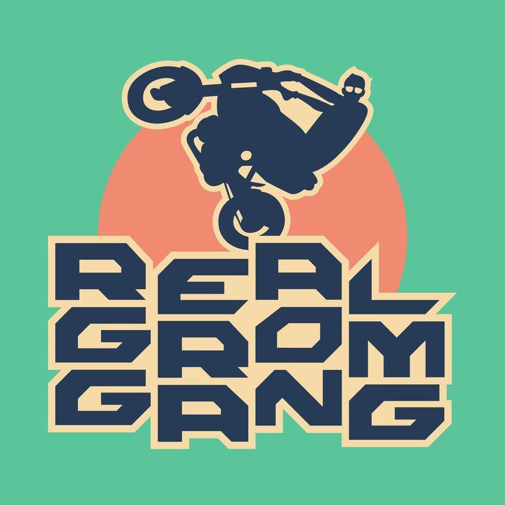 REAL GROM GANG / Logo Design