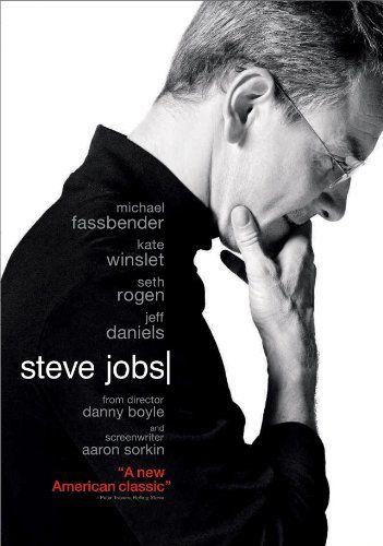 Steve Jobs / Dir: Danny Boyle. Intèrprets: Michael Fassbender, Kate Winslet, Seth Rogen.