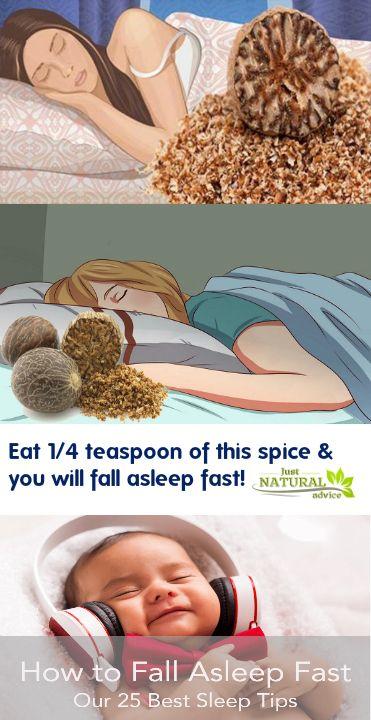 Jedz 1/4 łyżeczki tej przyprawy i szybko zasnę! - Tylko naturalne porady