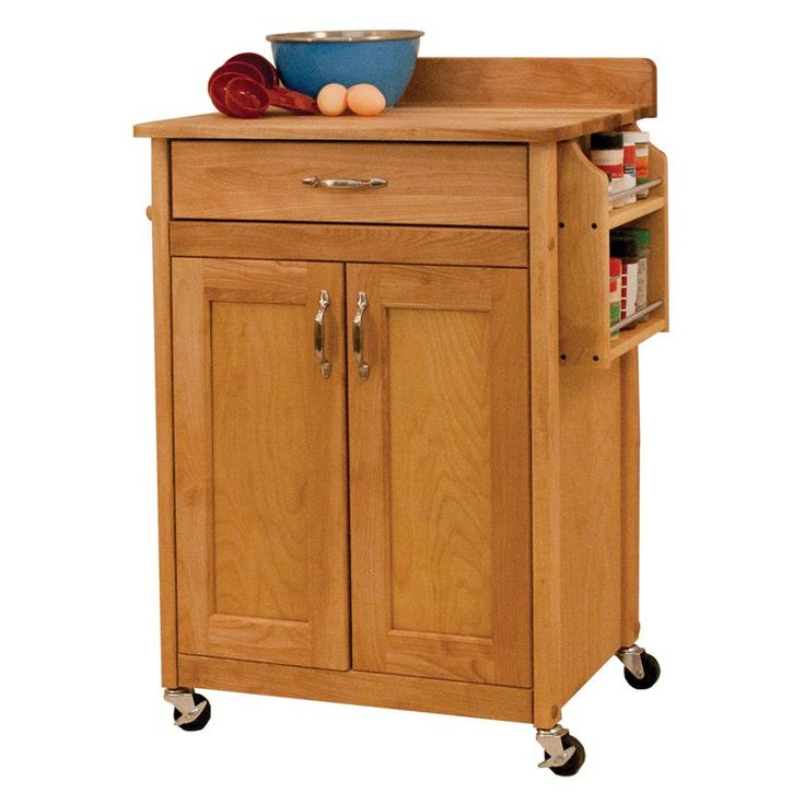butcher block cart walmart blocks costco canada