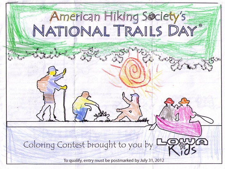17 best images about junior hikers on pinterest coloring  artworks and camping accessories Coloring Contest Flyer  Coloring Contest Age Groups