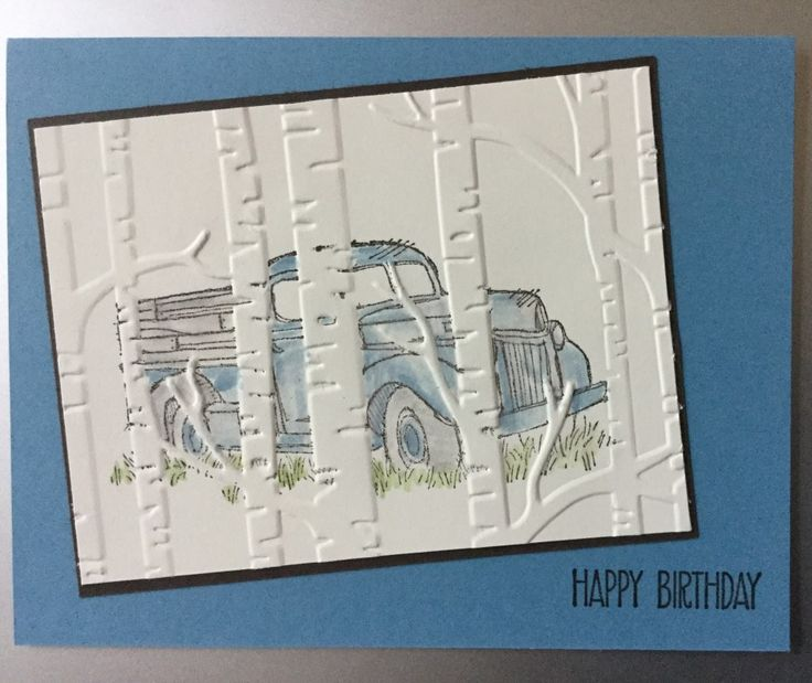 Country Trees by jadoherty - Cards and Paper Crafts at Splitcoaststampers
