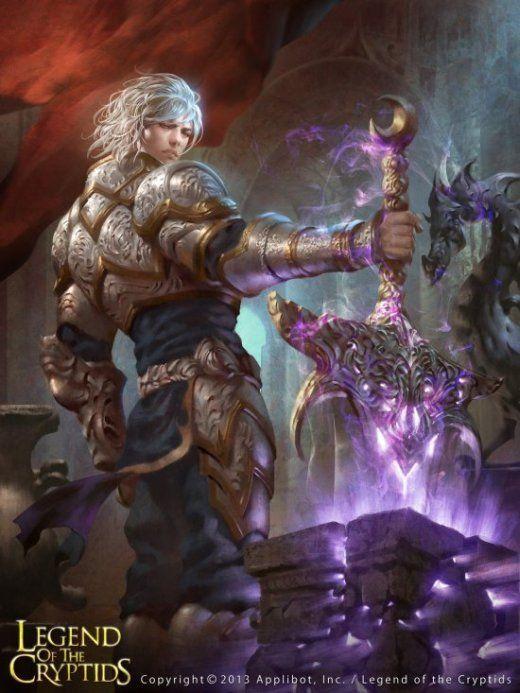 As ilustrações de fantasia para o card game Legend of the Cryptids de Lius…