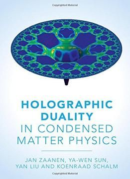 Holographic Duality In Condensed Matter Physics PDF