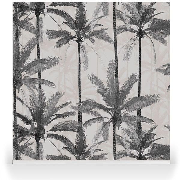 Crazy Palms Grey