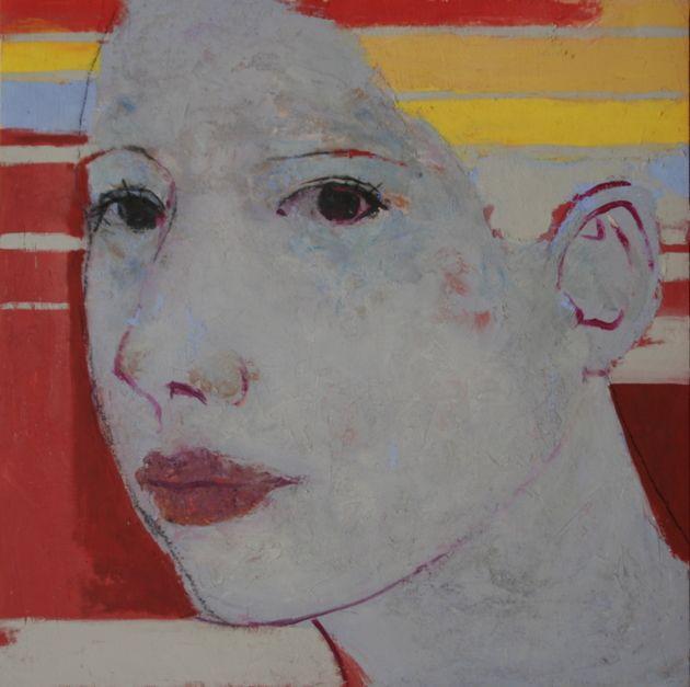 """FERNANDA"" | Pintura de Eduardo Salazar | Flecha"