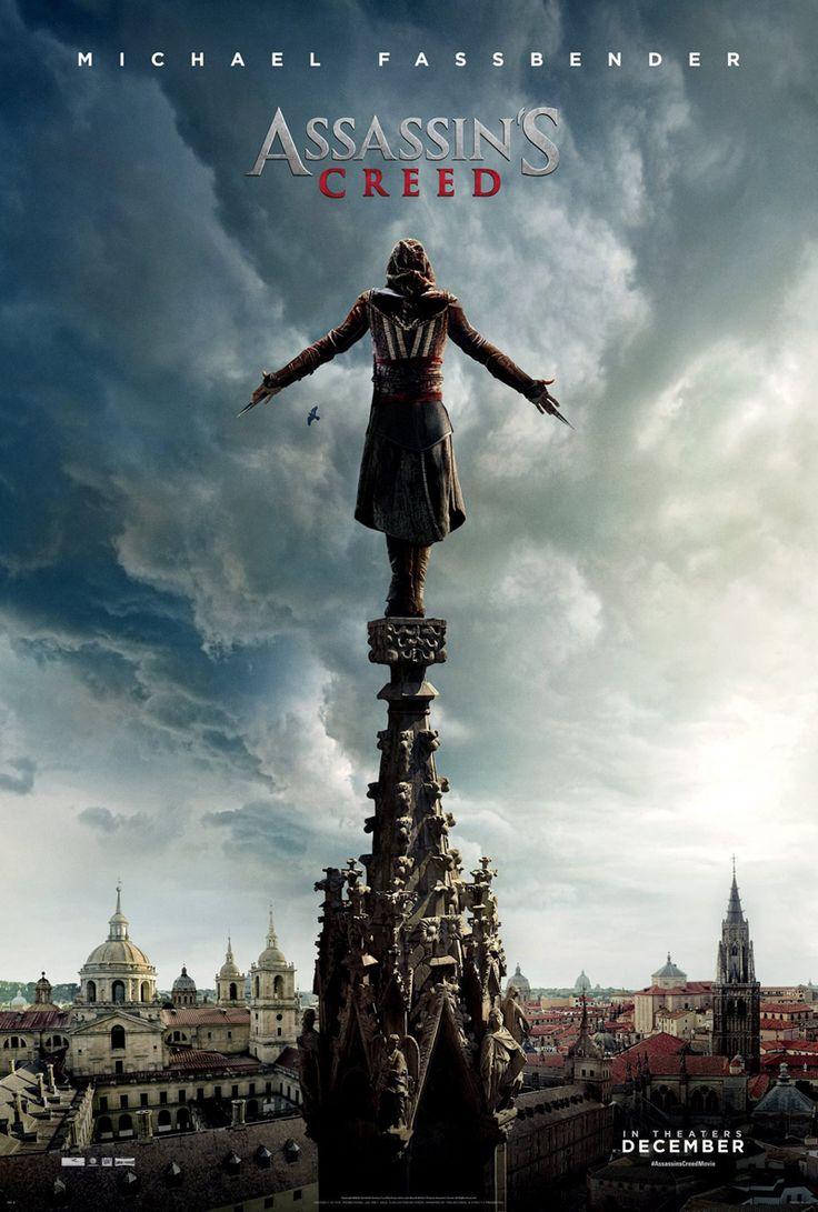 Assassin's Creed.(Não tem data prevista para o Brasil).Assassin's Creed é um filme franco-americano de ação e aventura baseada na franquia de jogos eletrônicos homônima criada pela Ubisoft.