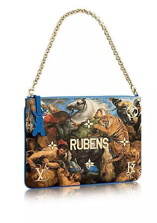 423a5aa7b3 Louis Vuitton/Jeff Koons Rubens 'Masters Collection' Clutch. BNIB ...