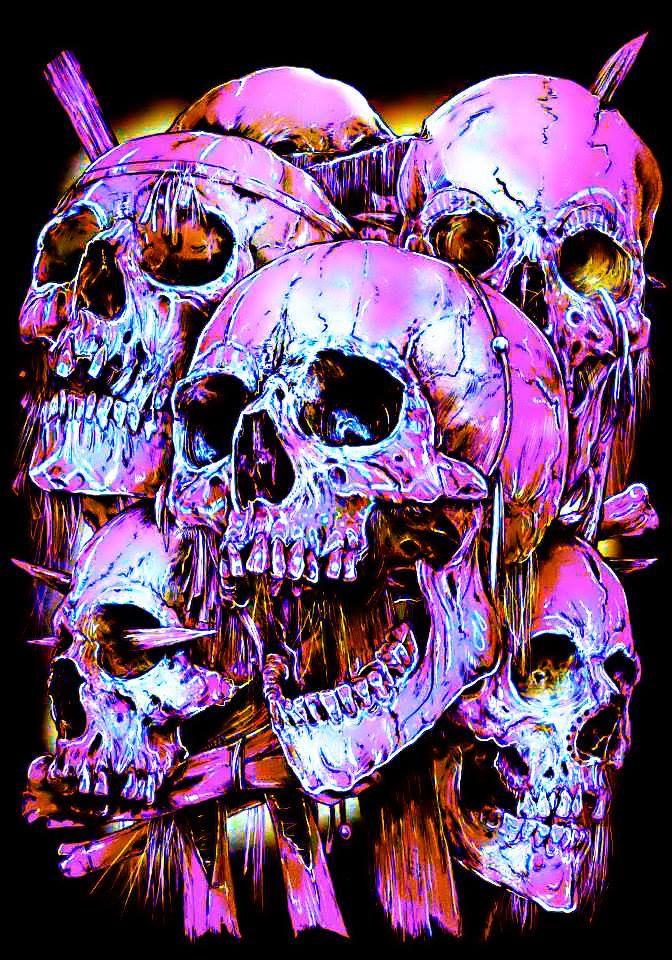 японии картинки всяких черепов домика