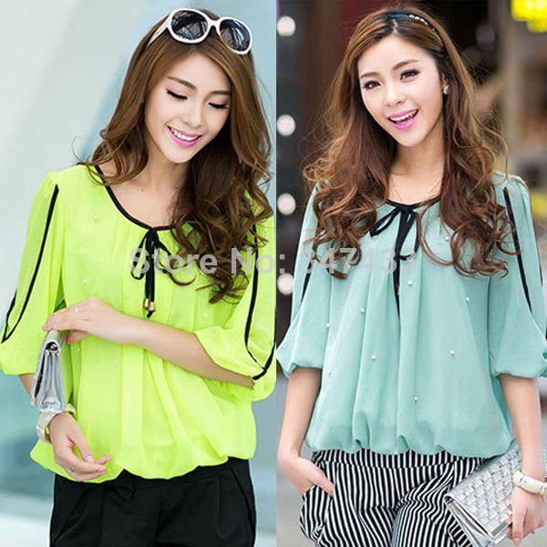 womens tops blusas female shirts and blouses xxxl xxxxl 3xl 4xl plus size tops big sizes candy color blusa for fat women  http://tinyurl.com/ngzy4ue #womenfashion #top #tshirt #fashiontshirt #fatwoman #plussize
