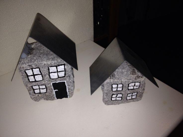 Små huse af brosten