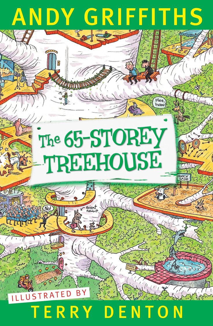 The 65storey Treehouse (the Treehouse Series) Ebook: Andy Griffiths, Terry