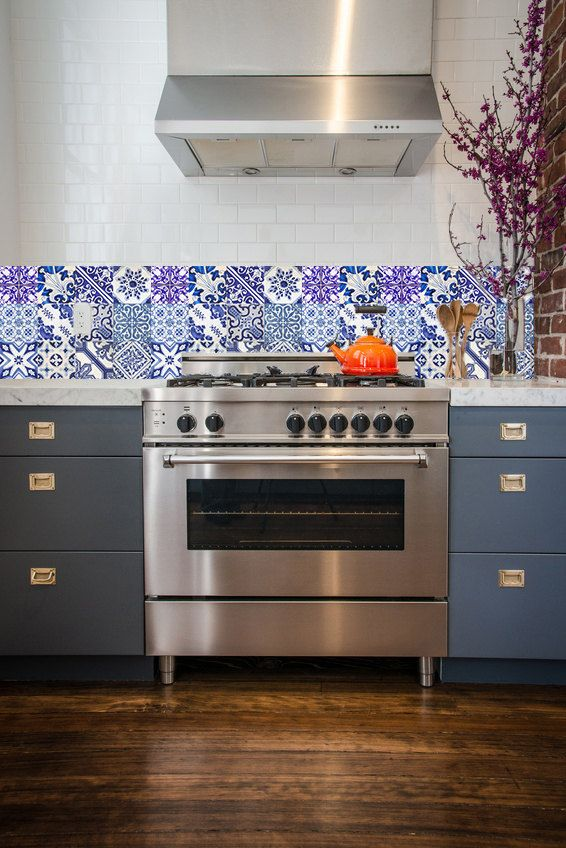 Mural Tiles For Kitchen Decor 36 Best Kitchen Decals Images On Pinterest  Kitchen Decals Tile