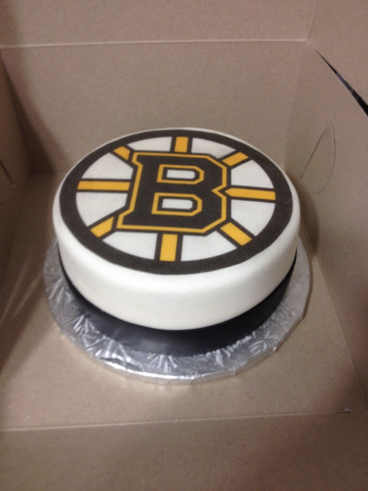 Boston Bruins Cake My Cakes Pinterest Cakes Boston