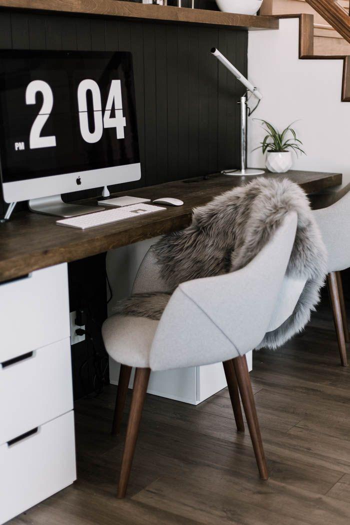 Our Diy Computer Desk Reveal In 2020 Computer Desks For Home