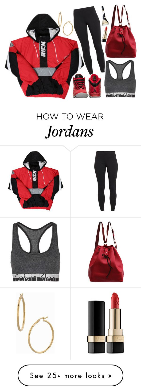 """""""RiCh"""" by nenedopesauce on Polyvore featuring Maidenform, Retrò, Calvin Klein, Bony Levy, Dolce&Gabbana, women's clothing, women, female, woman and misses"""