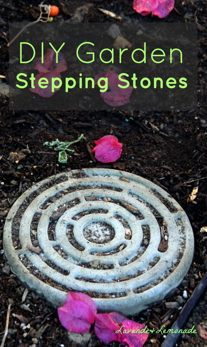 638 best garden paths images on pinterest landscaping for Diy garden stepping stones