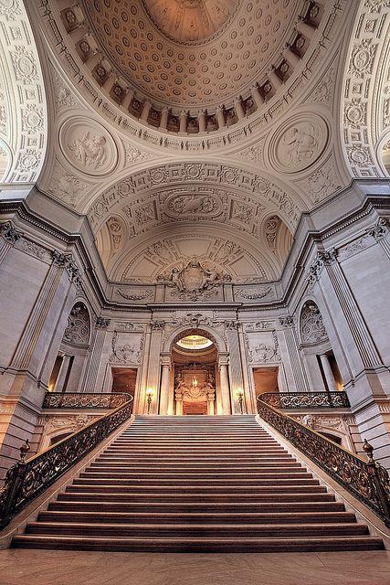 San Francisco City Hall, California by Non Paratus