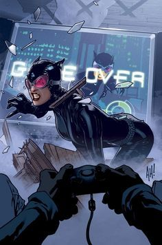 Image result for adam hughes catwoman