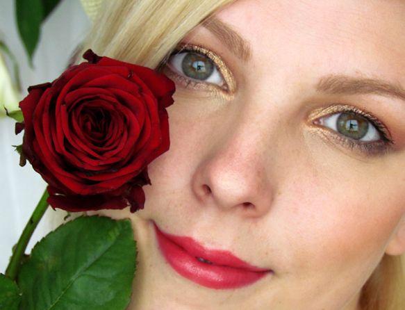 Líčení á la Růžové Zlato / Rose Gold Eye Makeup Tutorial http://getthelouk.com/?p=2267