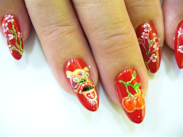 36 best lunar new year nails images on pinterest chinese new chinese new year by jtnailz nail art gallery nailartgalleryilsmag by prinsesfo Choice Image