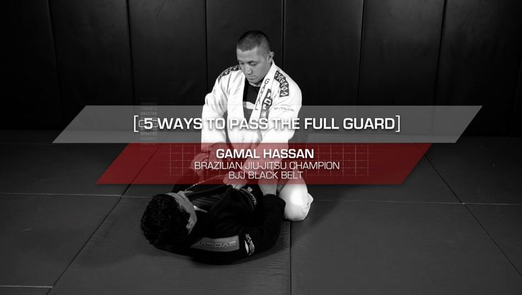 BJJ: 5 Essential Ways To Pass The Full Guard | Evolve University