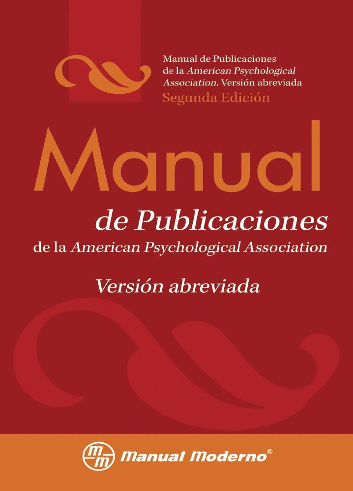 Manual de publicaciones de la American Psychological Association : versión…