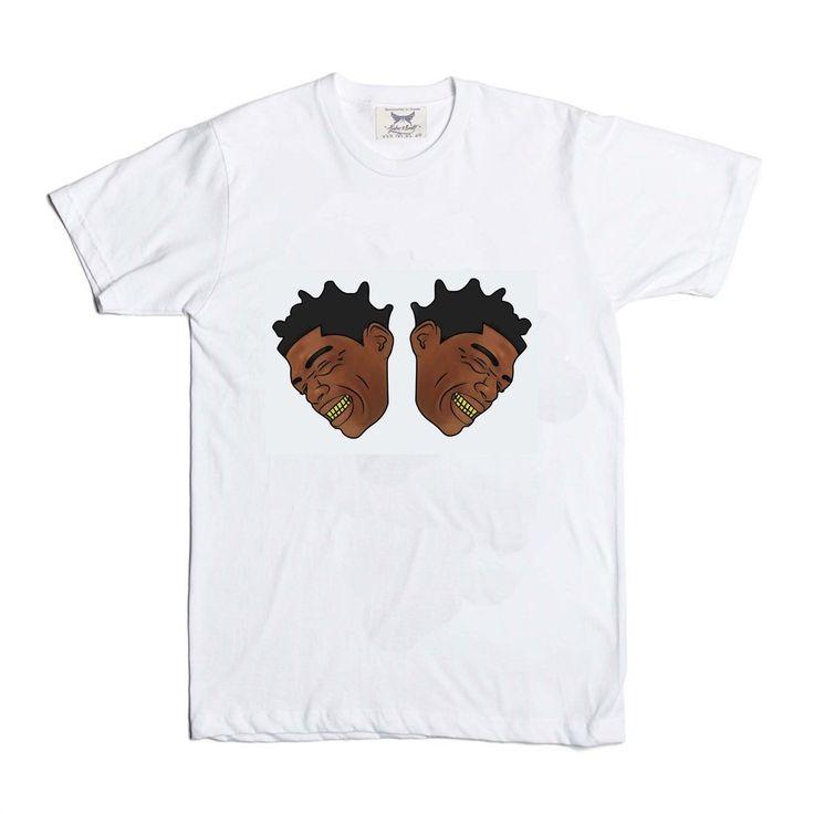 Kodak Black Color White Tee (Unisex) // T-shirt // Babes & Gents // www.babesngents.com