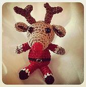 Ravelry: Amigurumi Santa Claus and reindeer pattern pattern by Katharine Suchard