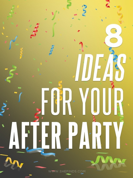 8 Food Ideas For Your Weddings After Party