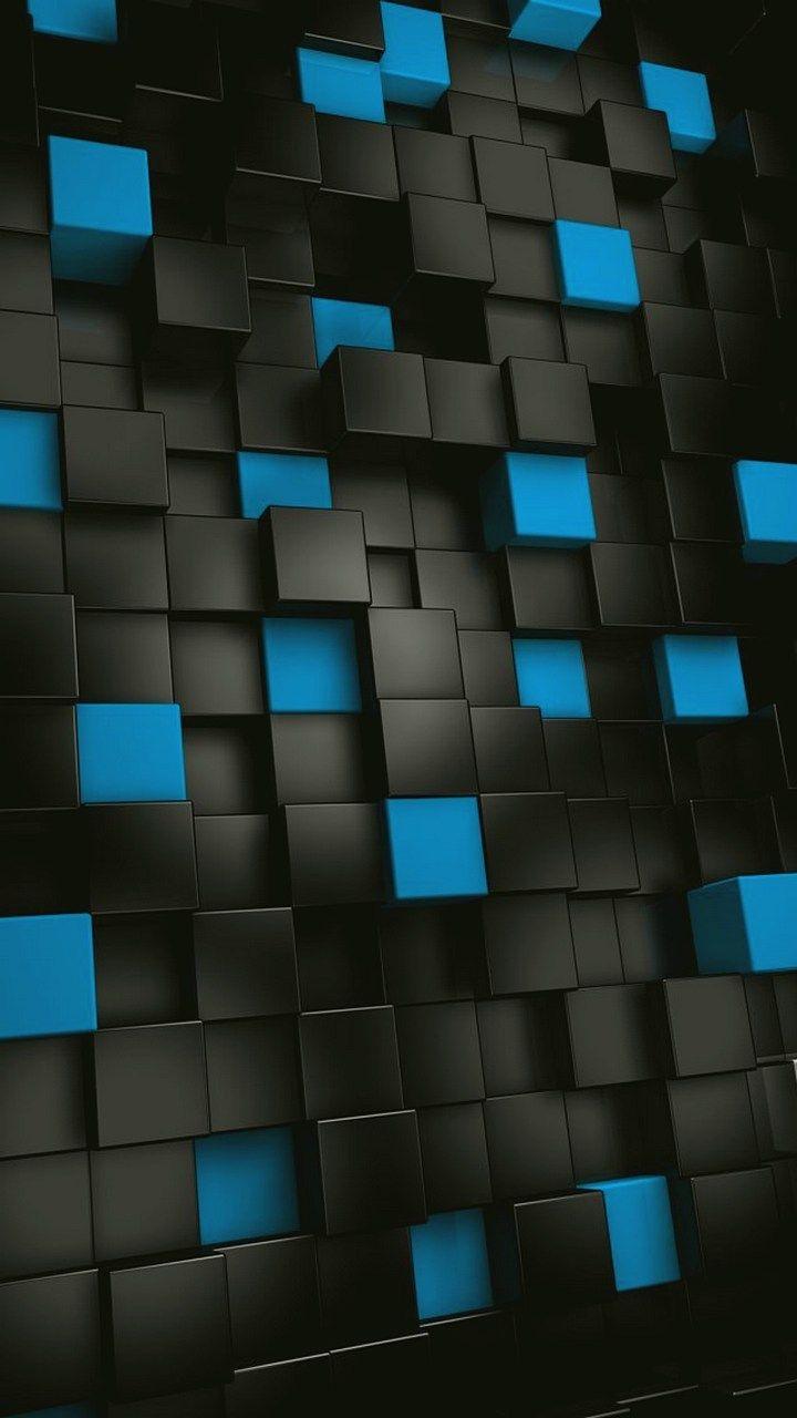 Black 3d Abstract Wallpaper 720x1280 Htc Wallpaper Samsung Wallpaper Best Iphone Wallpapers