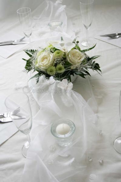 svatební stůl s organzou - Hledat Googlem