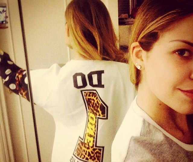 COSTANZA CARACCIOLO  indossa la felpa FOLLOWUS  #love #followus #followusfashion #woman #collection #ss14 #fashion #style