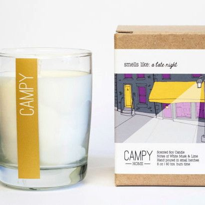 A Late Night Candle by Campy Home
