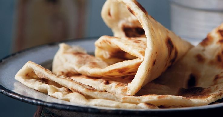 Crispy and soft all at once, roti canai is essential with any Malaysian curry.