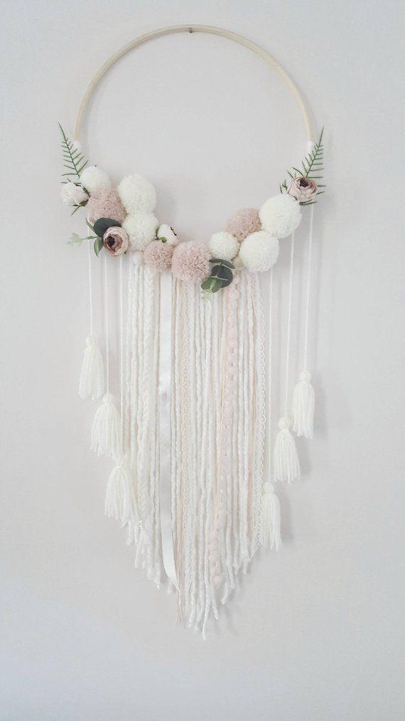 Boho Flower Wall Hanging