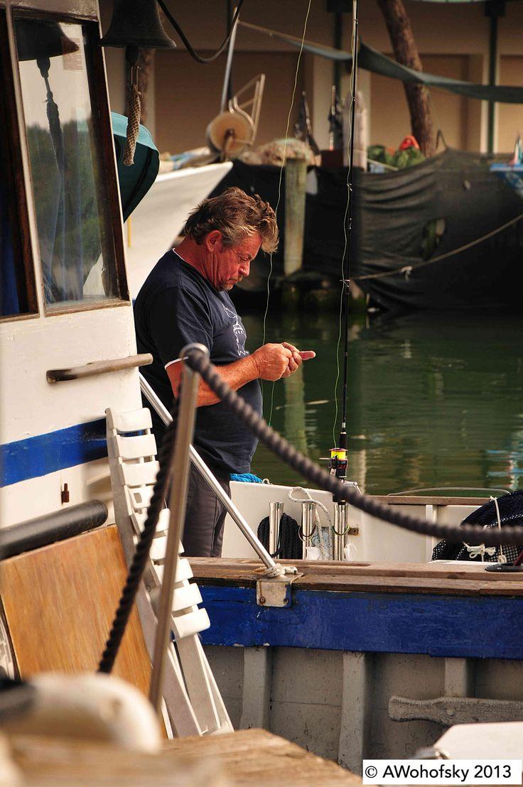 Smartphone statt fischen