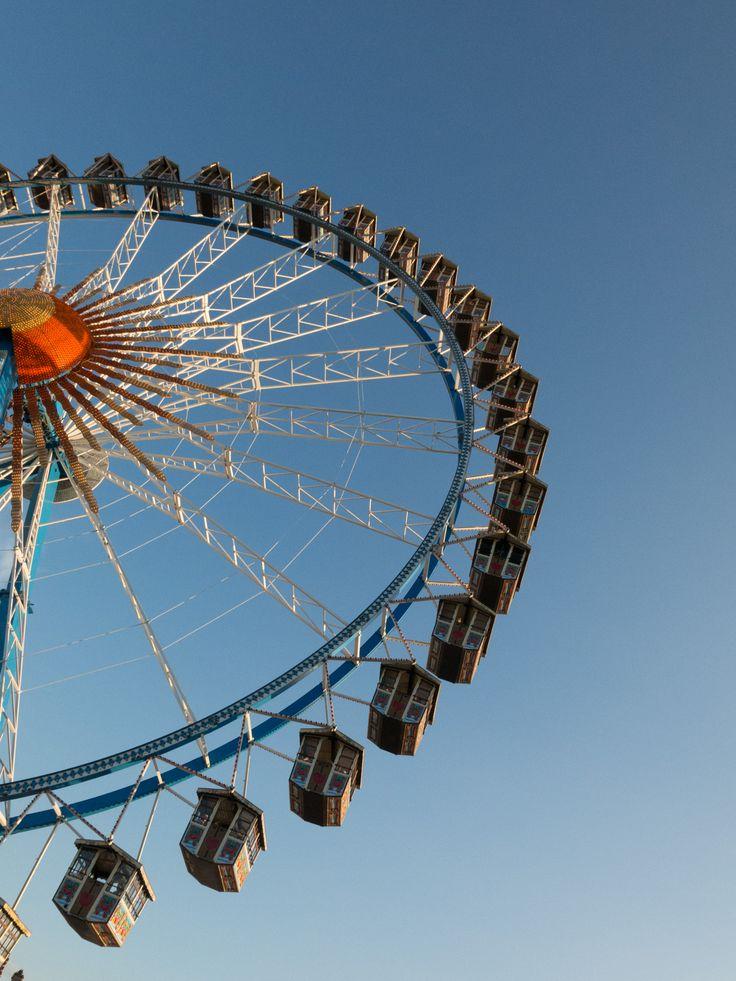 Ferris wheel. Oktoberfest. Munich. Germany.
