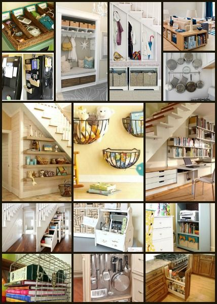 15 GREAT Home ORGANIZING Ideas!!!