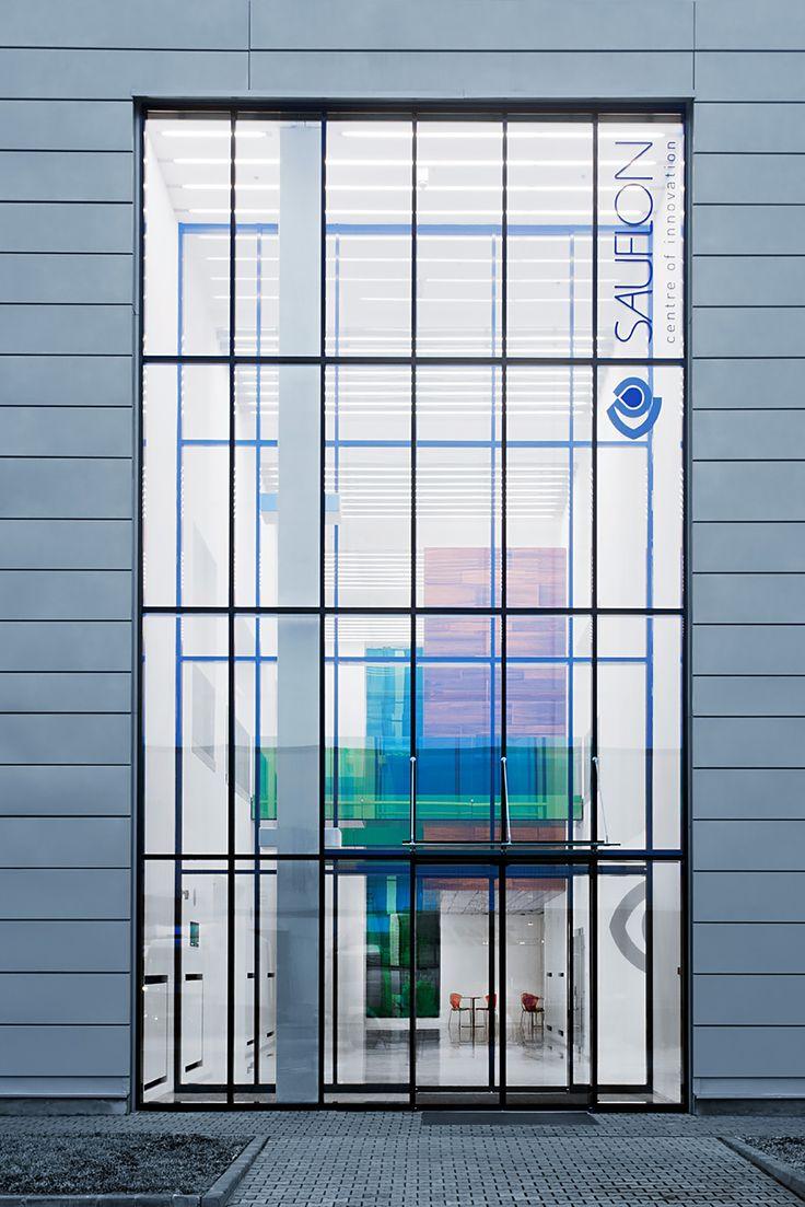 Foldes Architects   www.foldesarchitects.hu   #innovation #centre #architecture #glass #wood #reflection #bridge #passage