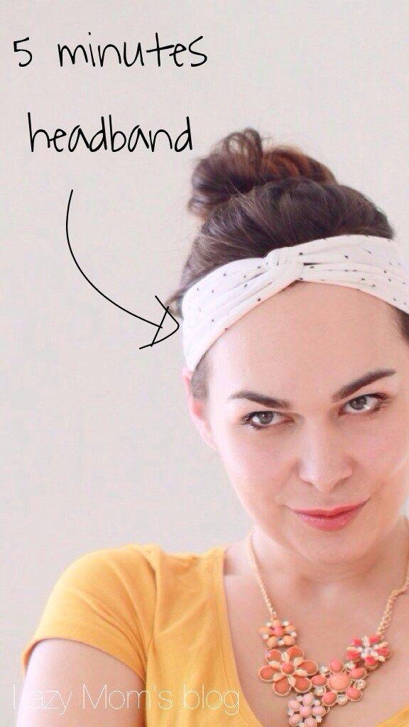 No-sew headband
