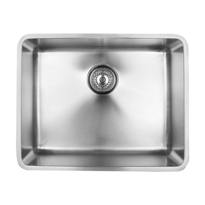 quadro 100u undermount kitchen sink 530lx430wx200h visit our website for best value products. Interior Design Ideas. Home Design Ideas