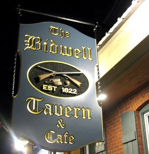 Beer & Chicken Wings.  Bidwell Tavern, Main St. Coventry
