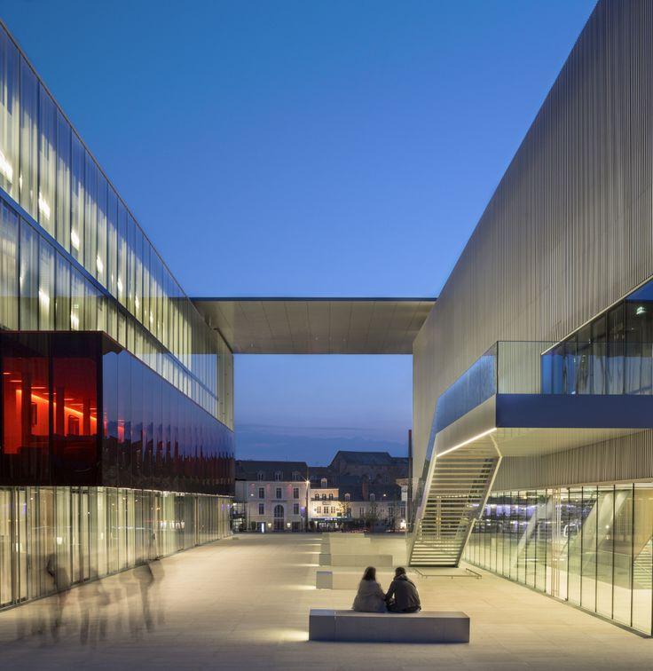 Centre Culturel des Quinconces au Mans - COVERIS - Façades vitrées & verrières architecturales