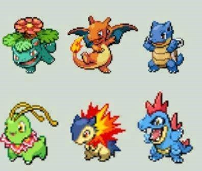 What if Starters Fully Evolved But Stayed Small and Cute?