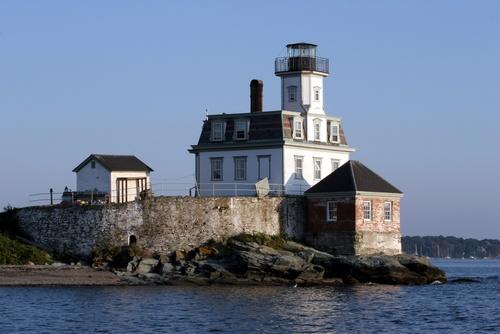 Rose Island Lighthouse, Newport, Rhode Island   #VisitRhodeIsland