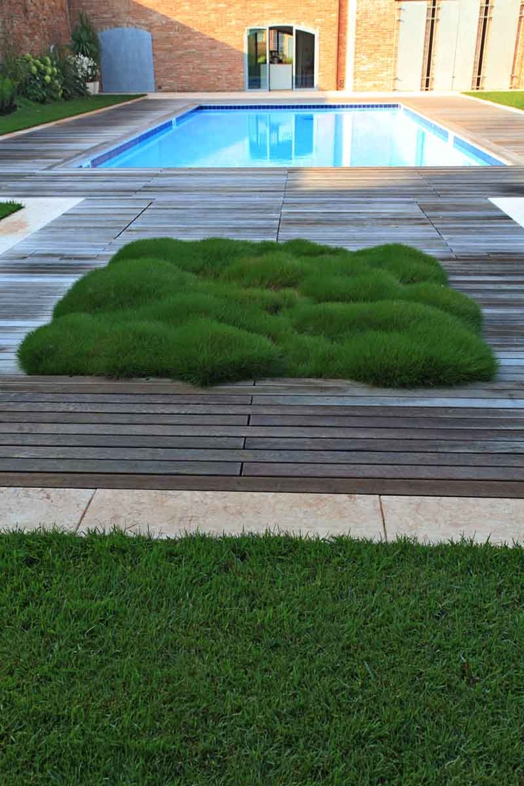 I like the blending of soft grasses or long leafy perennials with patio hardscapes. Silvia ghirelli / giardino della memoria, mantovano