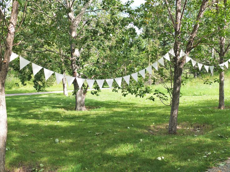 Custom bunting and garlands made to suit your celebration.